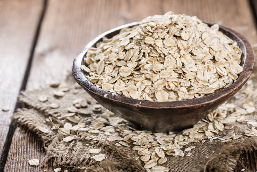 oats for gaining mass
